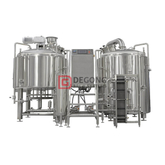 500L Restaurant Micro Beer Brewing System Brewpub Small Beer Beer Brewery Equipment